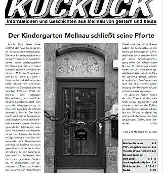 Mellnauer Kuckuck, Ausgabe 4/2016