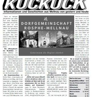 Mellnauer Kuckuck, Ausgabe 1/2017
