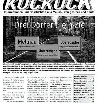 Mellnauer Kuckuck, Ausgabe 2/2017
