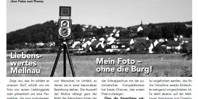 Mellnauer Kuckuck, Ausgabe 4/2017 und Fotowettbewerb
