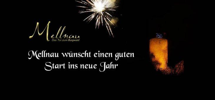 Mellnau wünscht einen guten Start ins neue Jahr!