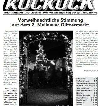 Mellnauer Kuckuck, Ausgabe 1/2018