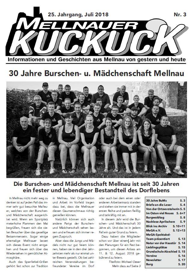 Mellnauer Kuckuck, Ausgabe 4/2018