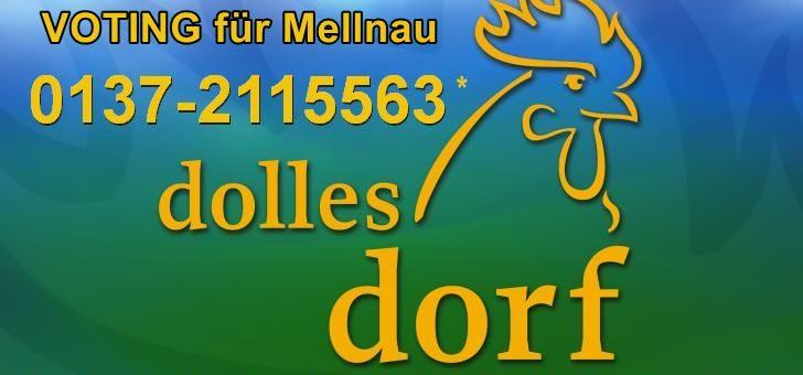 Mellnau zum DOLLEN DORF des Jahres voten