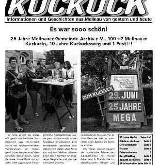 Mellnauer Kuckuck Ausgabe 3 / 2019