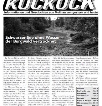 Der Mellnauer Kuckuck, Ausgabe 04/2019 ist da