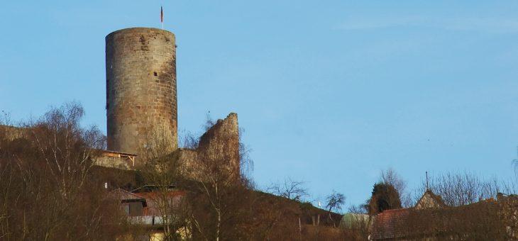 Burg gesperrt, Weihnachtsgottesdienst fällt aus