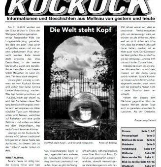 Der neue Mellnauer Kuckuck (Ausgabe 2/2020) ist da!