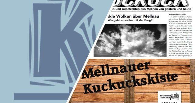 Der neue Mellnauer Kuckuck und weitere Highlights